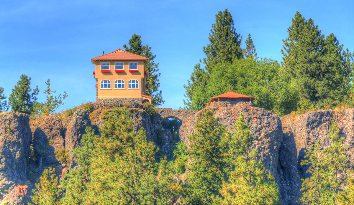 The Cliff House Mansion at Arbor Crest Winery